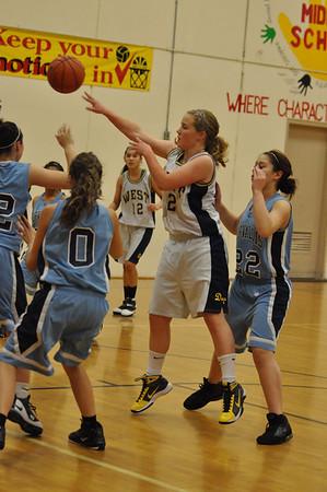 Corvallis vs. West Albany Frosh\JV\Varsity Girls Basketball