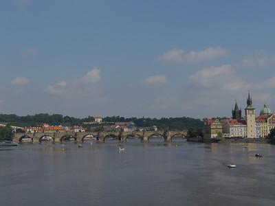 So 11.8.13, Tag 16: Prag - Camping Roviste (bei Kamyk), 81,5km