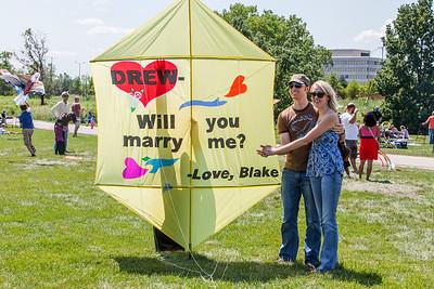 The High Flying Drew & Blake Engagement