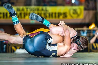 125 - Newcomer def. Sakow - 2016 NCWA Championships