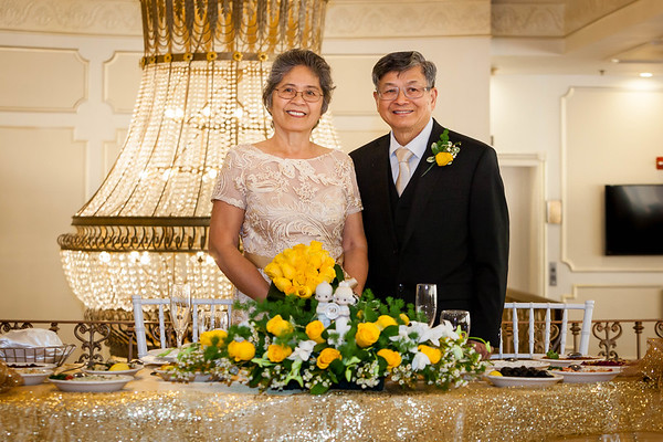 Elizabeth & Salvador Wong's 50th Wedding Anniversary