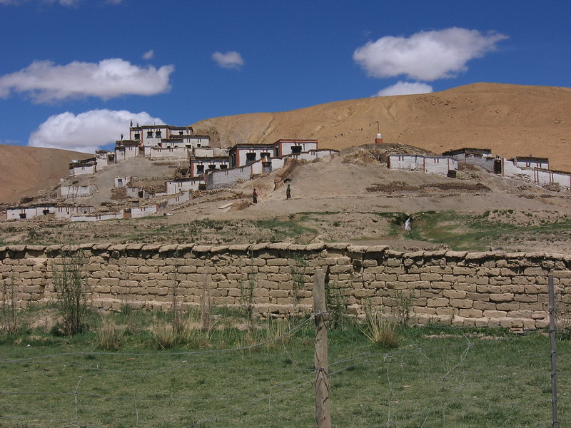 Small Tibetan village