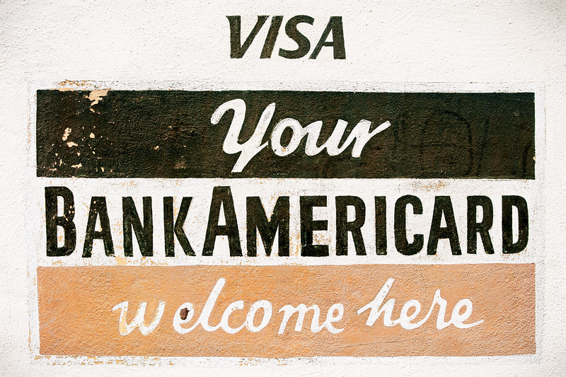 Your Bankamericard Welcome Here, Campbell, California, 2009