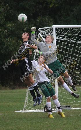 King Philip-Oliver Ames Boys Soccer - 10-09-15