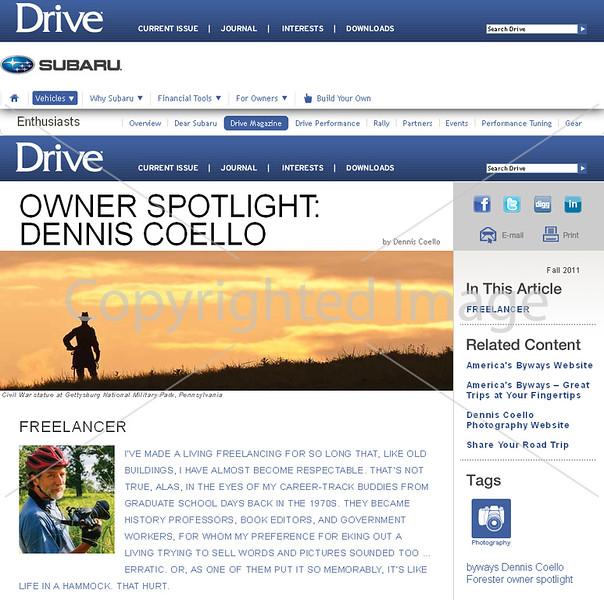 Drive Magazine - Owner Spotlight