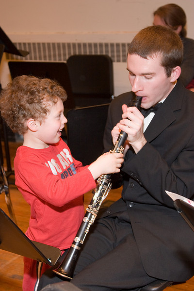 James Livengood with Rafael F. -- Hopkins Symphony Orchestra, March 2008