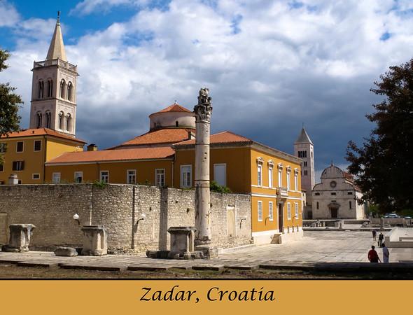 2012 Zadar Calendar pictures