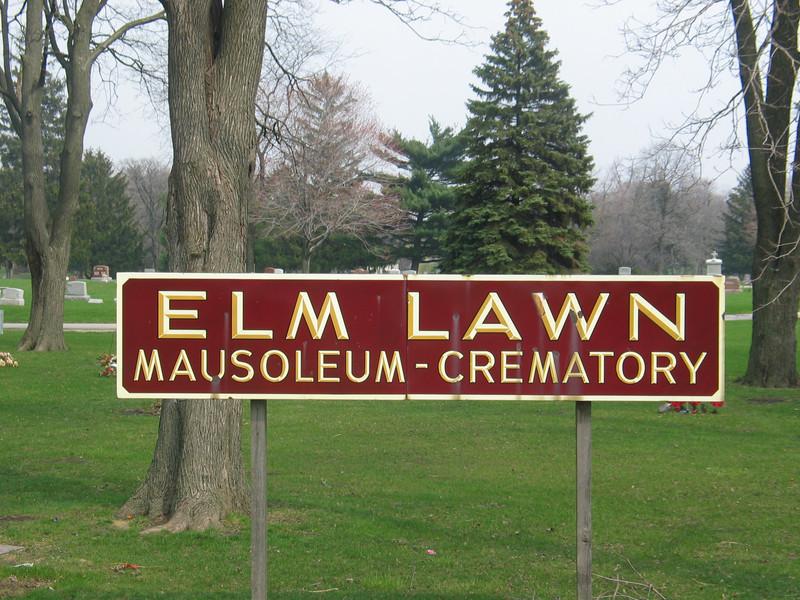 Elm Lawn Mausoleum - Crematory