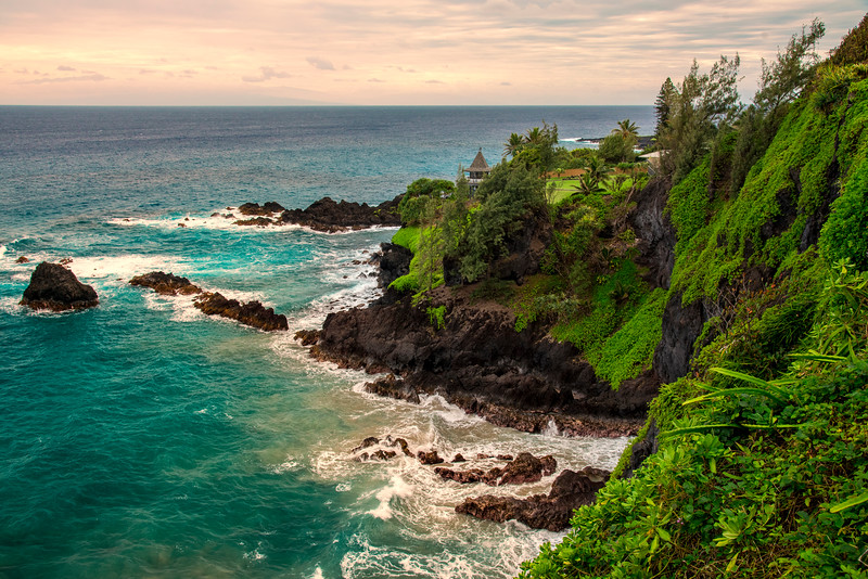 South Maui scenery, Maui, Hawaii