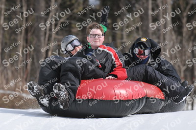 Snow Tubing 3-10-13 11-1pm session