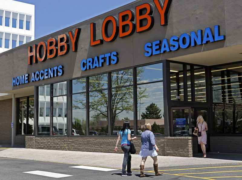 ". 16. HOBBY LOBBY <p>Hopes to make a killing with new Make Your Own IUD kits.   <p><b><a href=\'http://www.twincities.com/ci_26061123/justices-cant-make-employers-cover-contraception\' target=""_blank\""> LINK </a></b> <p>   (Associated Press)"