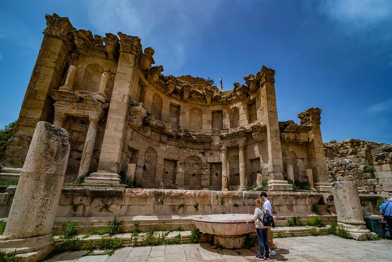 Jerash │ The Nymphaeum