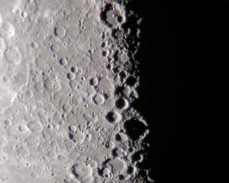 A small reddish smudge is visible in the image above is the result of a problem with the CCD camera chip and is not an abberation of the 10 inch lens.