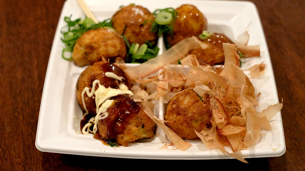 The takoyaki sampler at Wanaka.