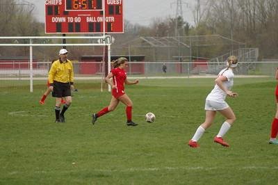 HS Sports - Grosse Ile at New Boston Huron Girls Soccer 19