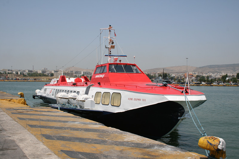 2011 - Hydrofoil FLYING DOLPHIN XXIX in Piraeus.