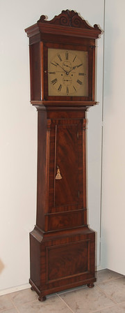 TC-49  British Long-Case Clock by Muirhead and Arthur