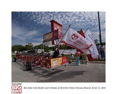 Big Bike for Heart and Stroke at Boston Pizza Wasaga Beach - June 15, 2020