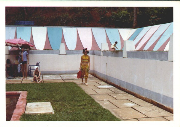Piscina de Andrada ( Zelinha de chapeu e Paulo Alexandre Alberto Alberto de toalha)