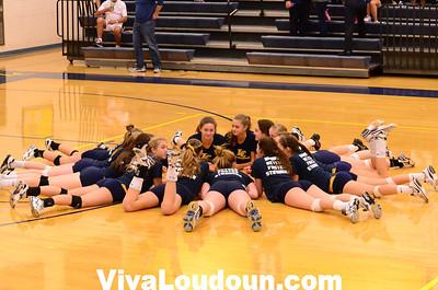 Varsity Volleyball: Woodgrove at Loudoun County (9-24-2012 by Jeff Vennitti)