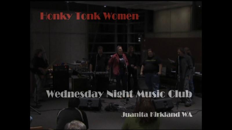 Wednesday Night Music Club   Honky Tonk Women