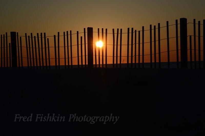 Dune fence sunrise 04_30_18.JPG