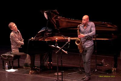 Joshua Redman and Brad Mehldau Duo Photos from Annenberg Center Philadelphia