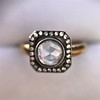 .53ctw Rose Cut Halo Ring, by Single Stone 29