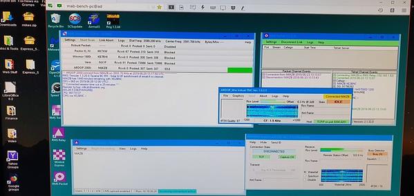 Testing Timewave alpha release for Winlink Ardop.