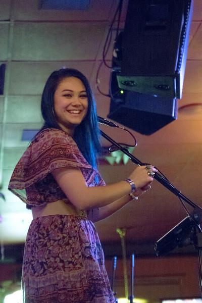 Hannah Singing Debut Oct 2014