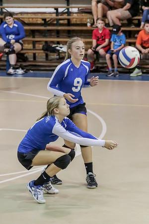 VolleyBall HHA vs DA 9-24-15