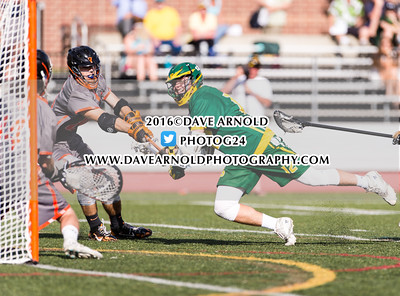 6/7/2016 - MIAA D1 South Quarterfinal - Boys Varsity Lacrosse - King Phillip vs Newton North
