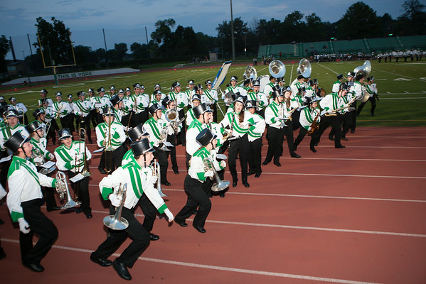 20140829 York Marching Band