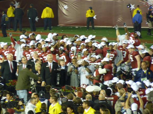 Alabama - Texas 2009 BCS Championship Game