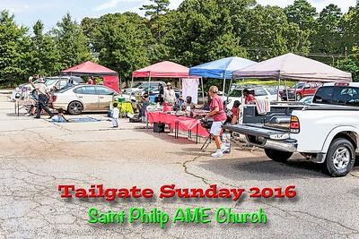 2016 Tailgate Sunday