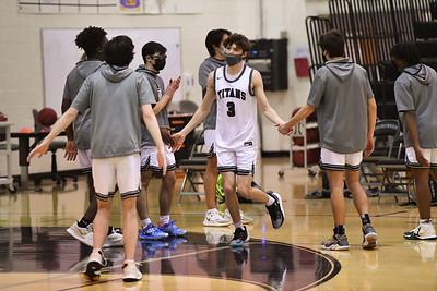 2021.02.04 Boys Basketball: Dulles District Semifinal, Loudoun Valley @ Dominion