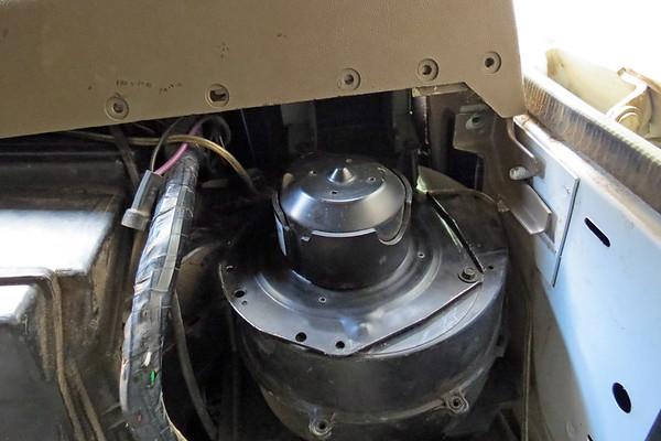 September 19:  GMC K1500 blower motor .  .  .