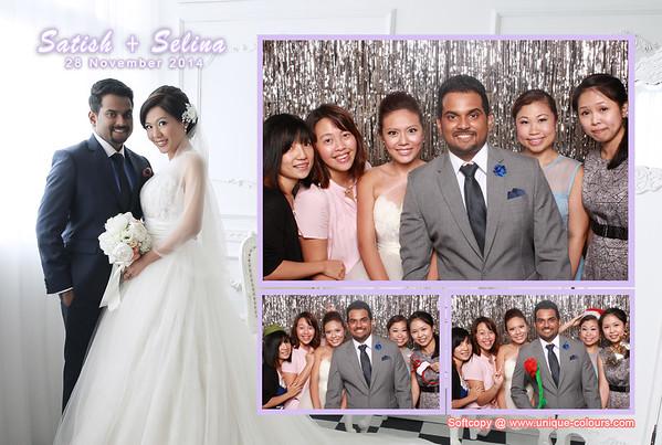 Satish + Selina Photobooth Album