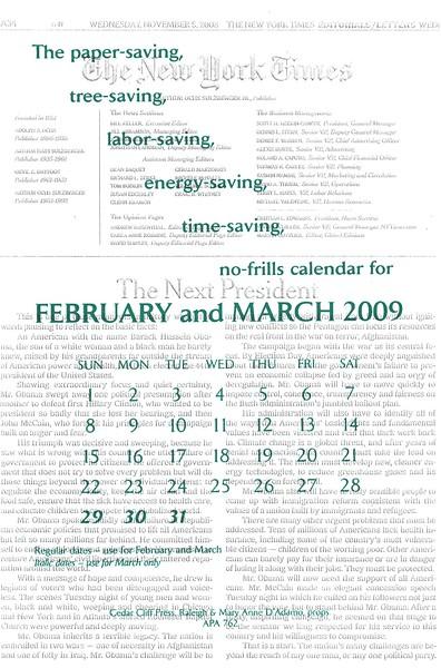March, 2009, Cedar Cliff Press