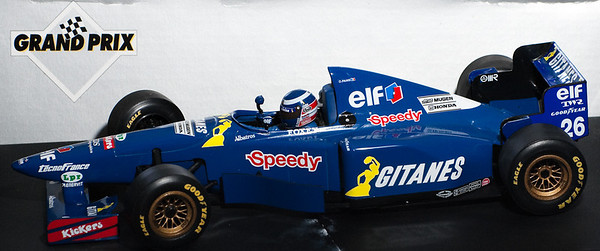 1995 #26 Ligier JS41 Olivier Panis (Race Livery) SOLD 10/16/12