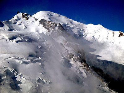 Mt Blanc in July.