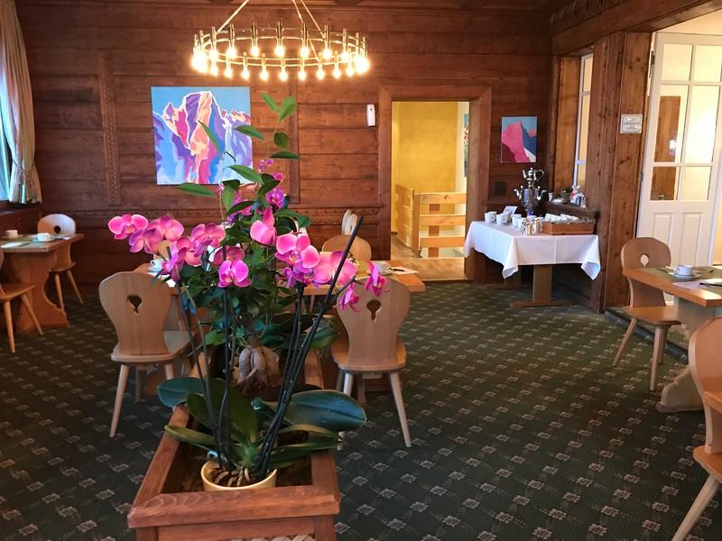 Orchids at Hotel Schweizerhaus