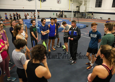 2018-12-10 WHS and EHS Winter Track Practice