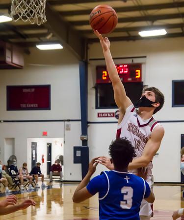 2/19/21 Boys basketball vs Alton Marq