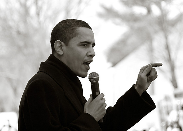 Barack Obama in Eau Claire, Wisconsin