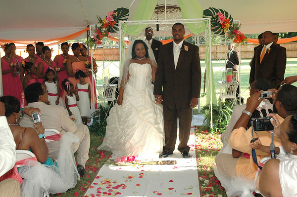 Newman & McCoy Wedding July 5, 2008