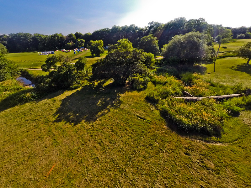 High-noon Summer at the Park 20 : Aerial Photography from Project Aerospace