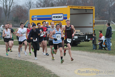10K Start - 2012 Ann Arbor Turkey Trot