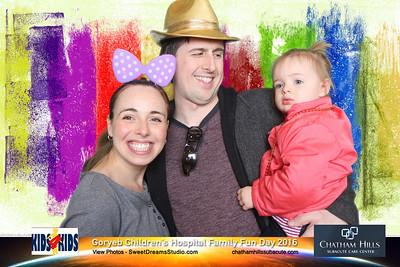 Goryeb Children's Hospital Family Fun Day 2016