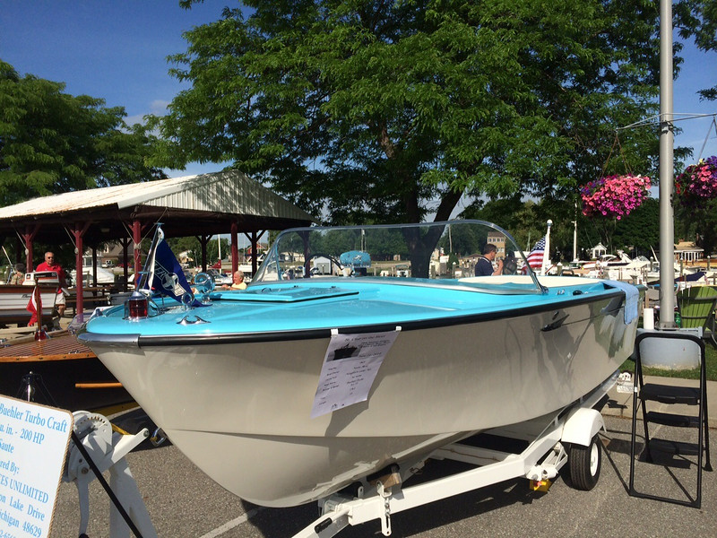 1962 Buehler at the 2014 Saint Clair boat show.